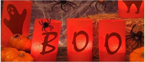 BOO Halloween Facebook Cover