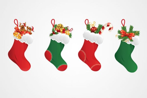 christmas stockings wallpaper