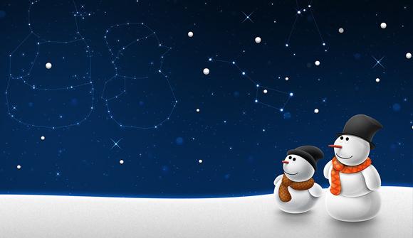 snowman christmas wallpapers