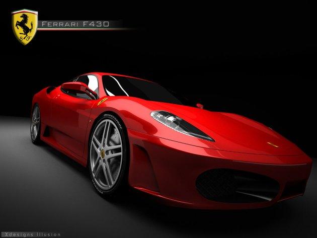 Ferrari_F430_red_by_XdesignsIllusion