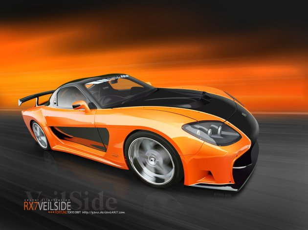 Veilside_Fortune_RX7_wallpaper_by_p3nx