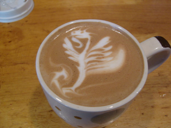 Flying Dragon Latte