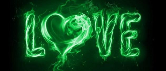 Love Heart Facebook Cover