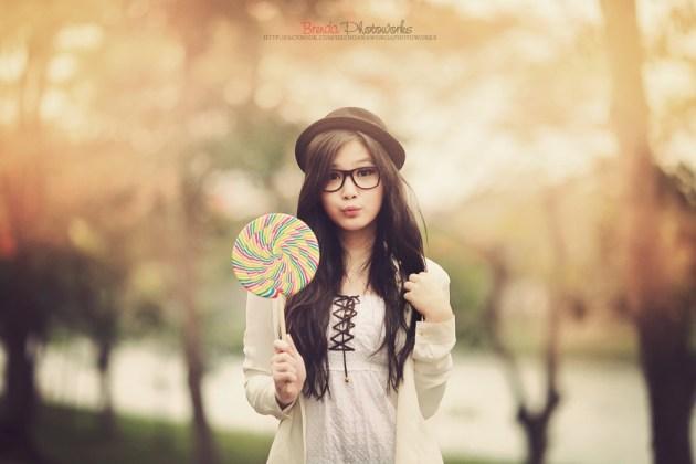 Sweet Lollipop Candy Girls