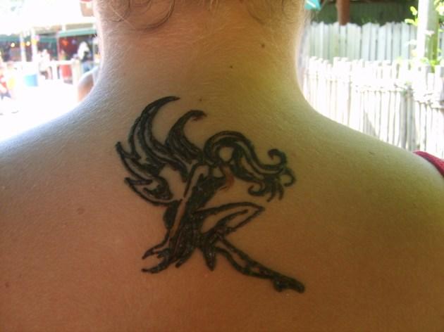 Flash Faery in henna