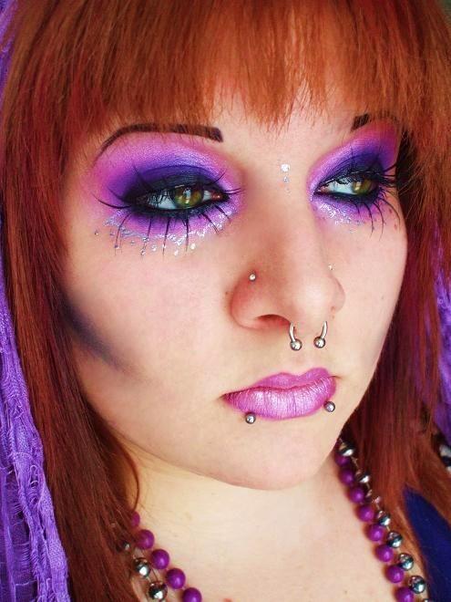 callow lily air witch makeup