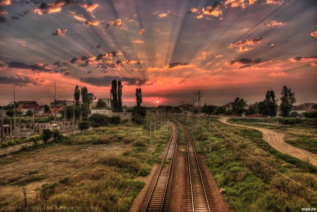 Sunset in HDR