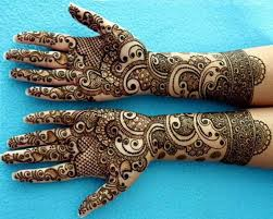 Brilliant Henna Pattern For Eid