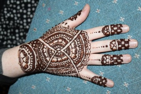Mehndi Design For Eid Ul Fitr