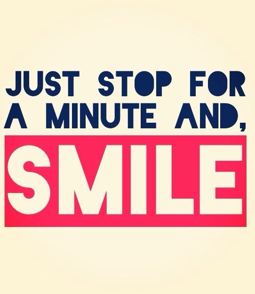 about smile quote
