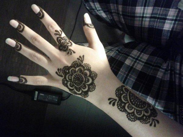 Indian Mehndi Design 2015
