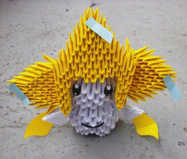 Jirachi - 3D origami