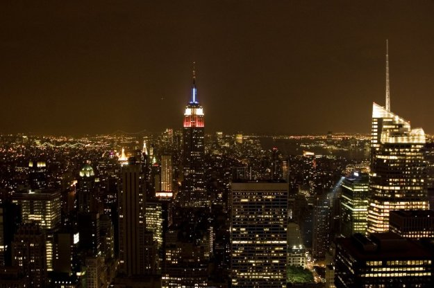 New York by night