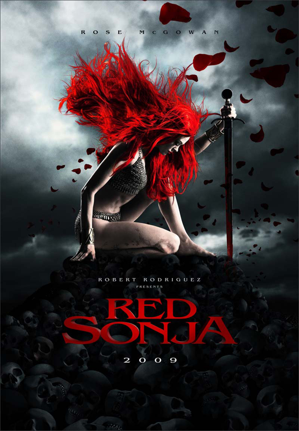 Red Sonja - beautiful movie poster