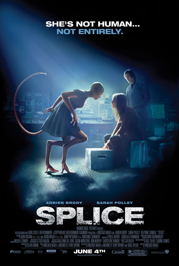 Splice - awesome movie poster