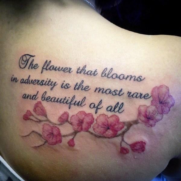 Disney Princesses quote tattoo