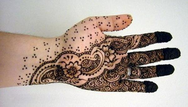 arabic henna designs for hands easy