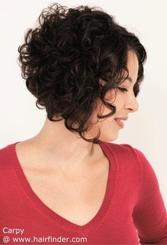 short curly haircut