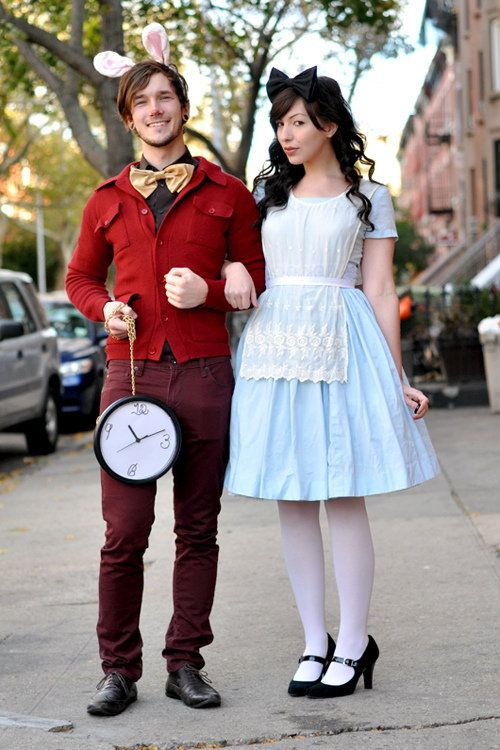 alice and the white rabbit couples