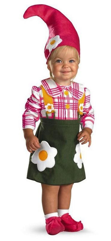 baby girl garden gnome halloween costume