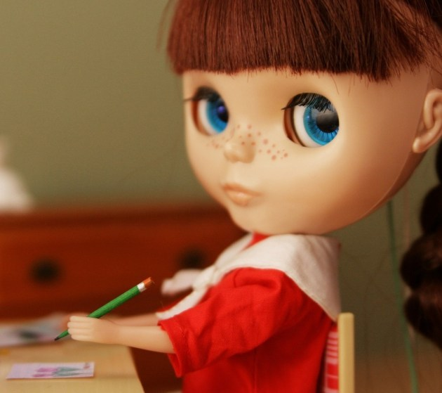 cute doll wallpaper image for iphone