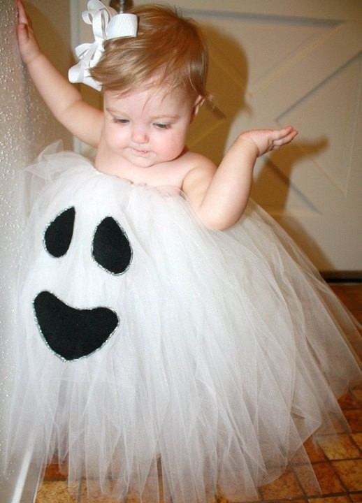 cute gost halloween costume idea