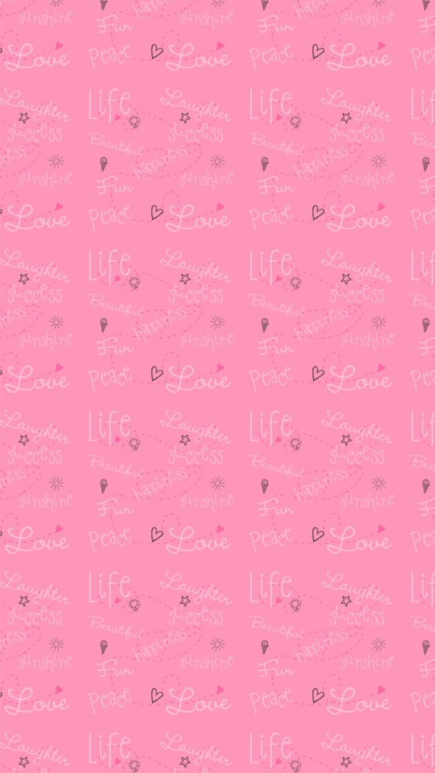 cute love background pattern design for iphone plus