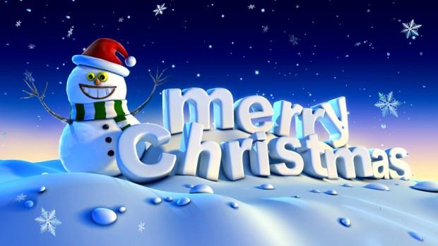 cool-snowman-merry-christmas-wallpaper