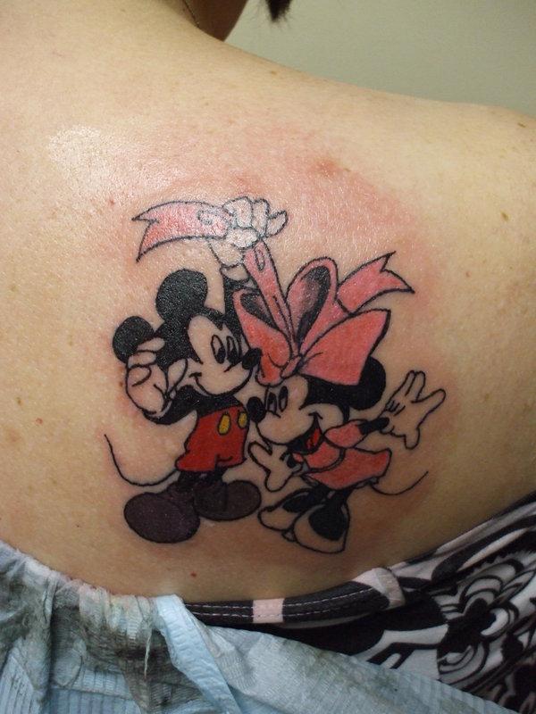 tattoo-mickey-&-minnie-mouse