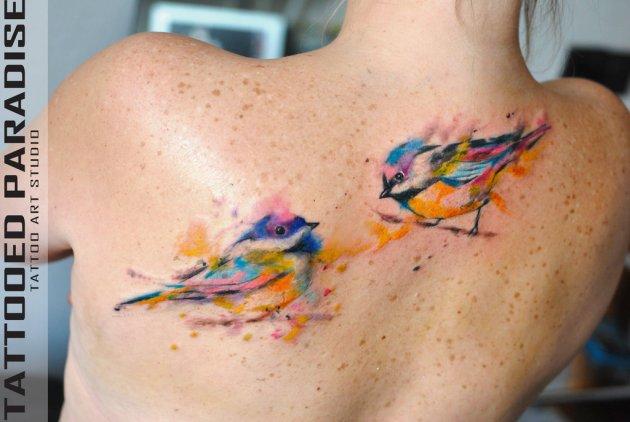 Two Birds Backpiece