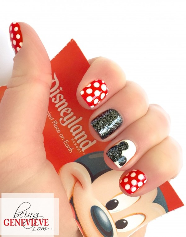cute disney character mickey nails for girls