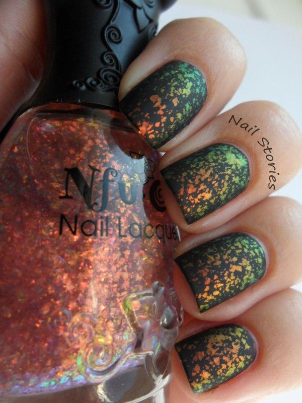 easy gorgeous matte nail polish designs