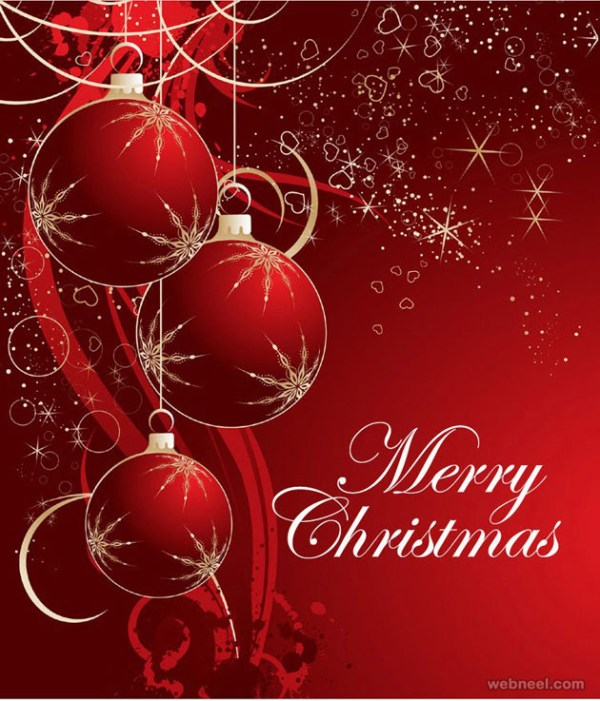 Merry Christmas Balls graphic photo