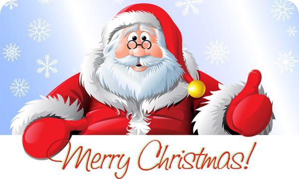 Merry Christmas Santa Claus Graphics