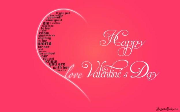 happy valentines day hd background photo