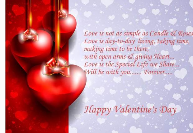 happy valentines day quote