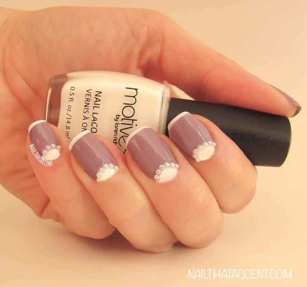 Half-Moon French Mani