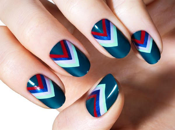 The V-Nail Art