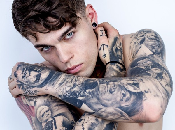 Top Models with Tattoos