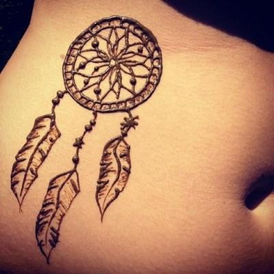 Henna design Dream catcher