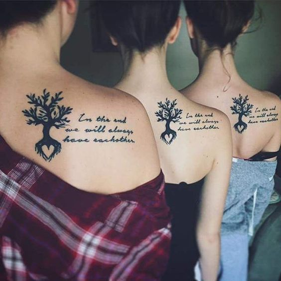 best friendship quote tattoos
