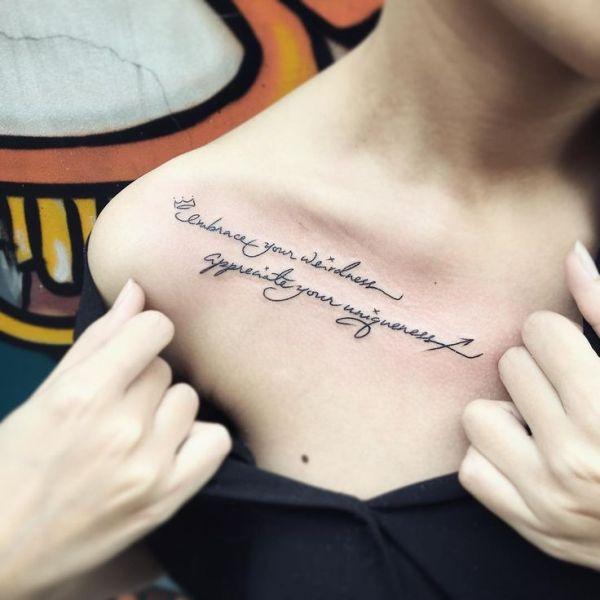 collarbone-quote-tattoos