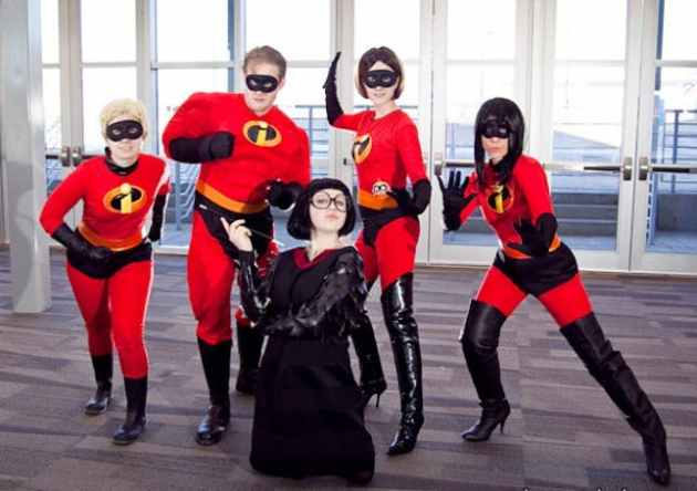 The Incredibles Group halloween Costume ideas