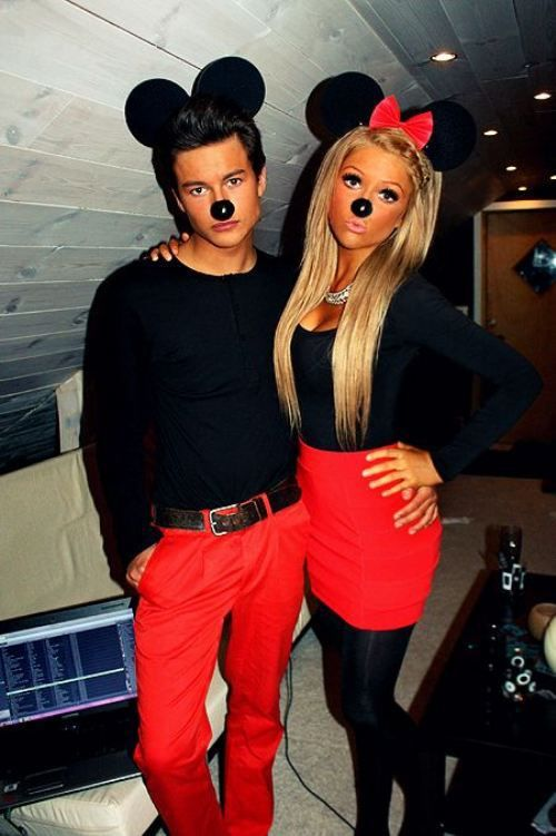 diy cute couples halloween costumes