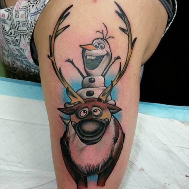 Olaf-Yark-Half-Sleeve-Tattoo