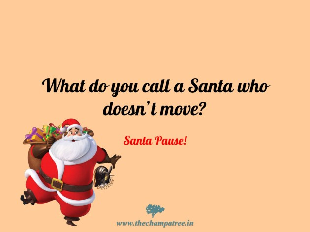 funny jokes about Santa