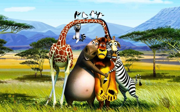 1920x1200 3d Madagascar movie wallpaper