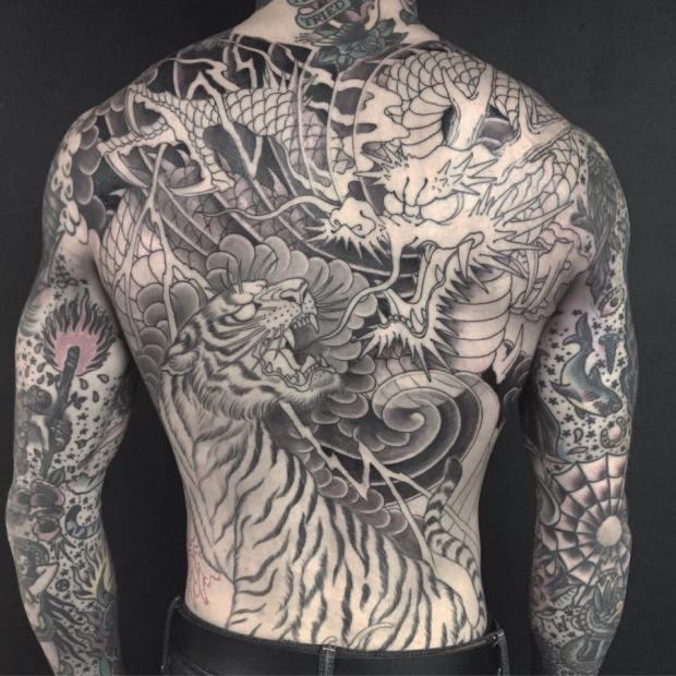 Chris Garver tattoo art