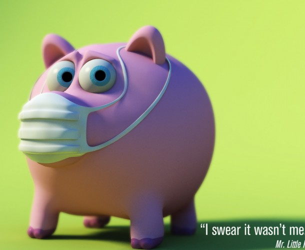 funny 3d animal character image
