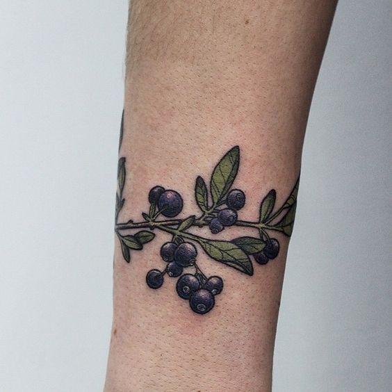 grape tattoo